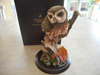 Country Artists Little Owl Figure CA 398..Lovely!