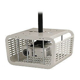 Security Enclosure For Projectors, White, Lot of 1