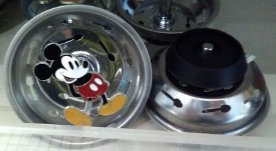 Disney Mickey Mouse Kitchen Sink Drain / Strainer / Plug / Stopper NEW
