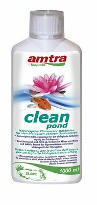 AMTRA CLEAN POND BATTERI per la depurazione biologica dell'acqua
