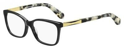 NEW Kate Spade KS Kariann Eyeglasses 0ANW Black Gold 100% AUTHENTIC