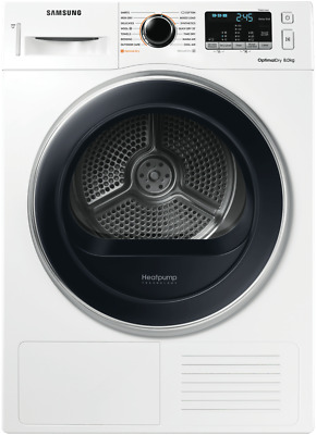 NEW Samsung DV80M5010QW 8kg Heat Pump Dryer