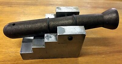 """Small Antique  Signal Cannon 7"""" Long Excellent Condition"""