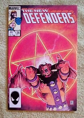 The Defenders #136 (Oct 1984, Marvel) 6.5 FN+