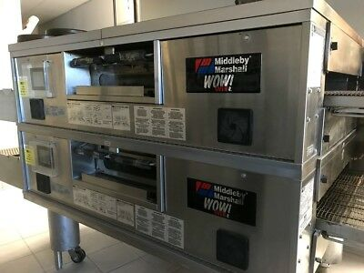 Middleby Marshall Double Stack WOW Conveyor Ovens