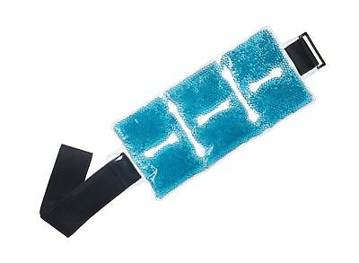 TheraPearl Reusable Hot Cold Pack for Back, Reusable Back Wrap with Strap & G...
