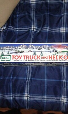 Hess Toy Truck and Helicopter, 1995