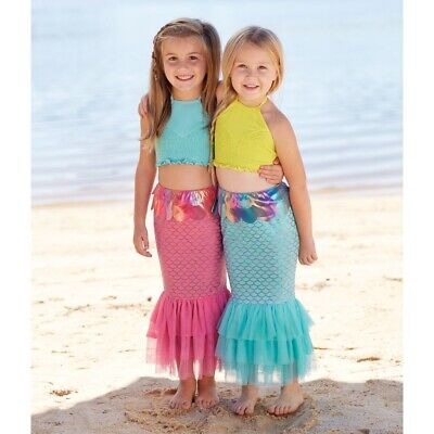 Mud Pie E8 Baby Girl Summer Pool Beach Mermaid Swim Tail 5T &Up 1122137 Choose