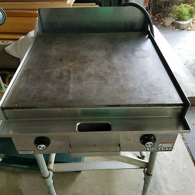 Hobart Electric Flat Grill/Griddle, commercial restaurant cafeteria, Works Great