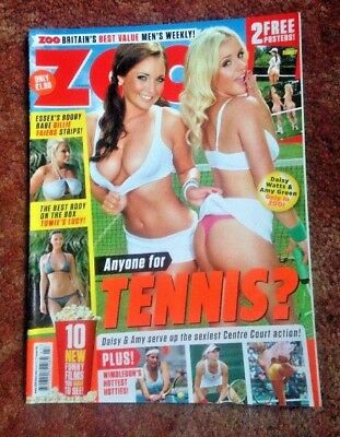 Rare Zoo Lads Magazine 6 -12 July 2012 Anyone For Tennis Good Used  Condition