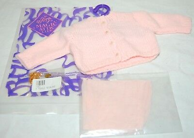 TONNER MAGIC ATTIC CLUB Pink Sweater Scarf Doll Outfit Clothing Set #7450 - NEW