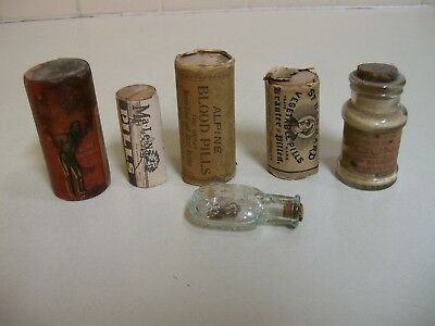 Group of Six Different Medicine's, all item's have contents