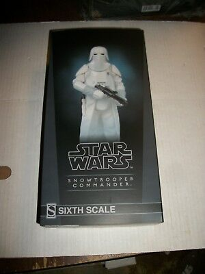 Sideshow Collectibles Star Wars SNOWTROOPER COMMANDER 1/6 Scale Figure NEW