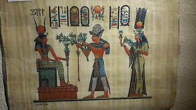 Egyptian painting on papyrus-SS42