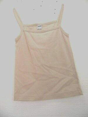 new girls cami tops girls size small approx. 8 to10 year old tan sol brand O10