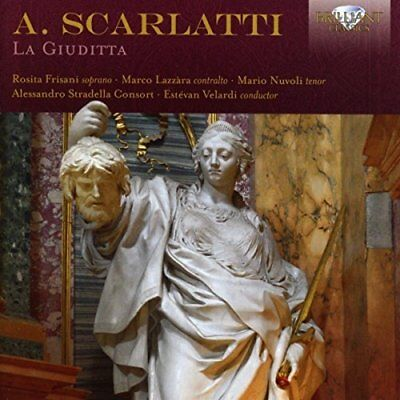 Alessandro Scarlatti-Scarlatti La Giuditta  (UK IMPORT)  CD NEW