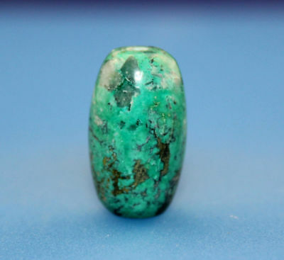 22*13 mm Antique Dzi turquoise old Bead from Tibet **Free shipping**