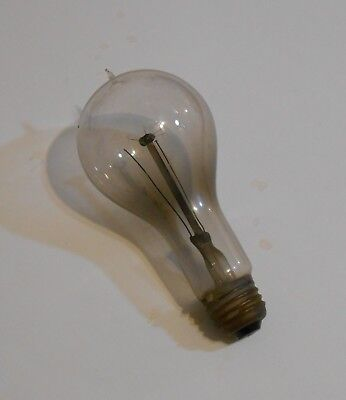 Old Vintage Antique Early Electric Light Bulb