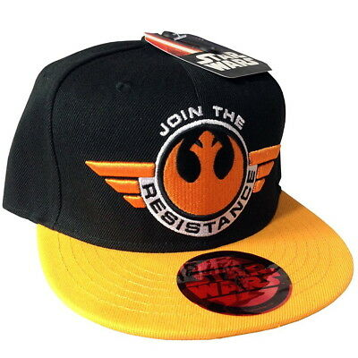 OFFICIAL Star Wars Join The Resistance Logo Baseball Cap Snapback Hat (NEW)