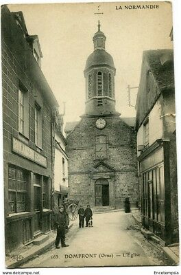 CPA-Carte postale- FRANCE  Domfront - L'Eglise (CPV1348)