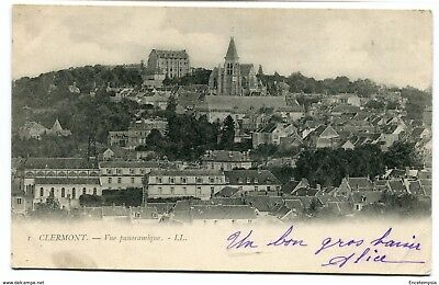 CPA-Carte postale- France - Clermont - Vue Panoramique - 1903 (CP1963)