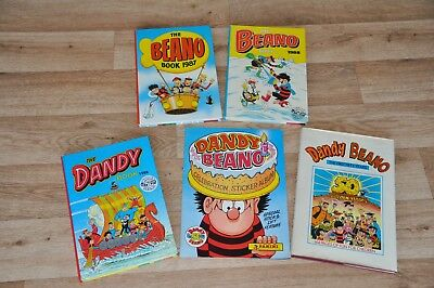 Collection of Beano and Dandy books