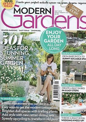 Modern Gardens Magazine - May 2018 (BN/SEALED)