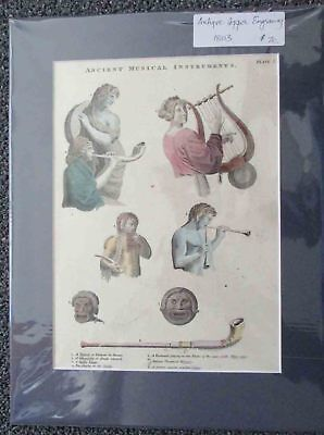 Musical Instruments , Ancient.1803.