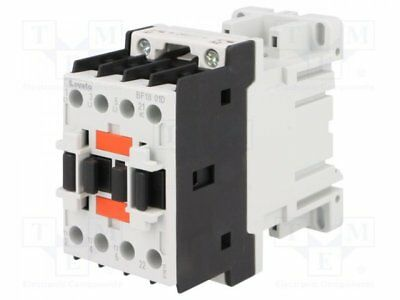 1 pcs Contactor:3-pole; Auxiliary contacts: NC; 24VDC; 18A; NO x3; DIN
