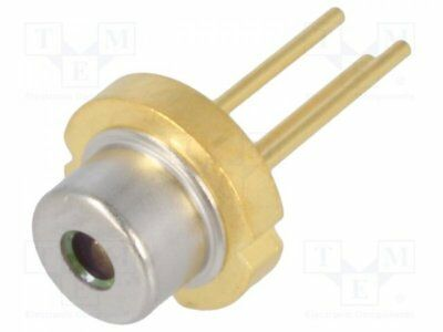 1 pcs Diode: laser; 655-665nm; 100mW; 11/27; TO18; Mounting: THT