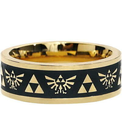 NEW OFFICIAL Nintendo Legend of Zelda Triforce Classic Retro Costume Band Ring