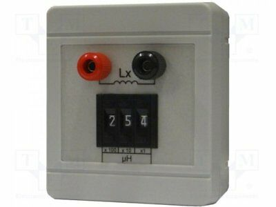 1 pcs Decade box: inductance; 1÷999uH; Number of ranges:3; ±5%