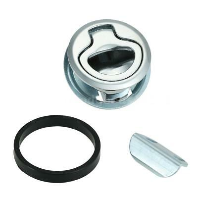 """Boat Marine Flush Mount Hatch Flush Pull Latch 2"""" Stainless Steel Practical O7X6"""