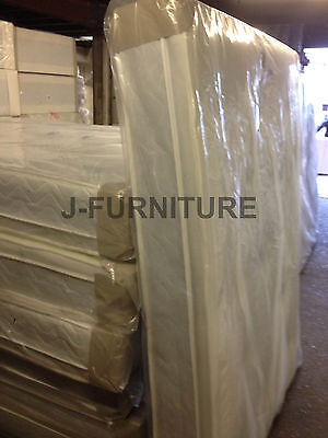 """3ft Single Luxury Orthopaedic And Memory Foam Two Sides 10"""" Mattress. RRP £280"""
