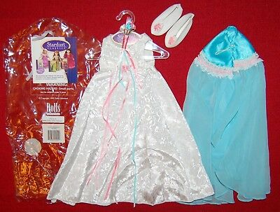 "18"" Just Pretend Stardust Classics Laurel Nightgown Robe Slippers Doll Clothes"