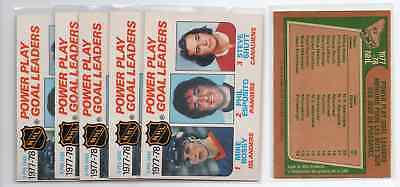 1X MIKE BOSSY ESPOSITO SHUTT 1978 79 O Pee Chee #67 NM-NMMT opc Lots Availa PPGL