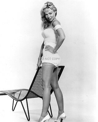 Actress Yvette Vickers Pin Up - 8X10 Publicity Photo (Cc483)