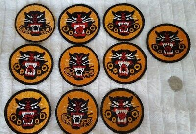 WW2 US Lot of 10 Tank Destroyer Patches #403