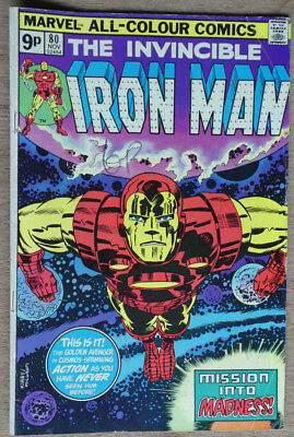Marvel The Invincible Iron Man #80 - Very Good/fine - Uk Pricing