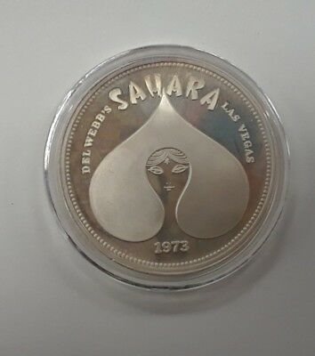 1973 Sahara Casino One Ounce Silver Round