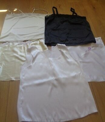 """Job Lot 5 x Vintage Camisole Tops Mainly 38"""" Bust  D106"""