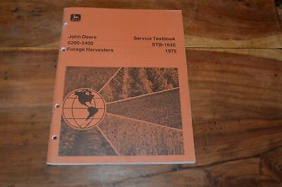 John Deere 5200 - 5400 Forage Harvesters Service Textbook manual (4)