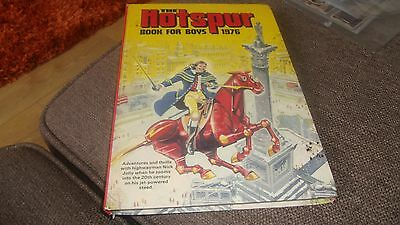 The Hotspur Book For Boys  -  1976  Annual In Good Condition
