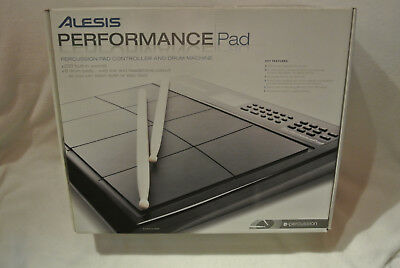 Original ALESIS Performance Pad ( Drum Pad - Drum Machine ) OVP + Rechnung