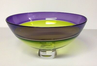 Incalmo Glass Bowl by James Nadal