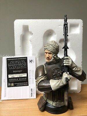 Gentle Giant Star Wars Dengar mini bust