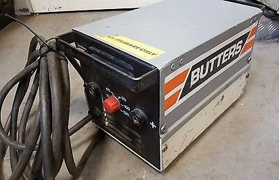 BUTTERS / BRITWELD DC130 STICK / MMA WELDER  complete with welding leads