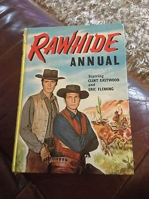 Rawbide Annual 1962 Eric Fleming & Clint Eastwood