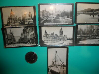 1890's/1900's ACTUAL PHOTOS OF THE CANADIAN PARLIAMENT & MORE!