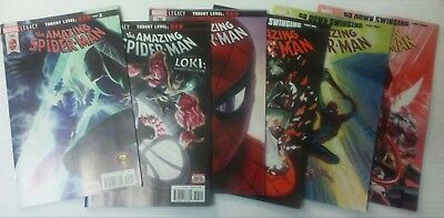 AMAZING SPIDER-MAN 794 795 796 797 798 799 1st printings close to NM Red Goblin